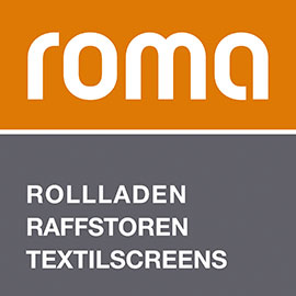 roma Rollladen Raffstoren Textilscreens